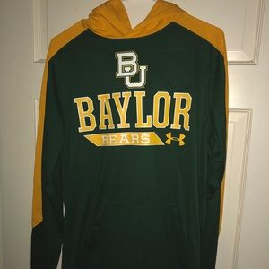 Baylor under armour hoodie